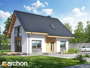 Projekt domu ARCHON+ Dom v zelenci 3