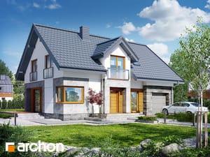 Projekt domu ARCHON+ Dom medzi kručinkami