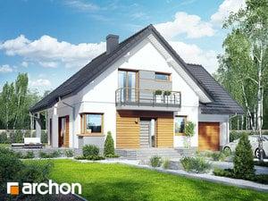 Projekt domu ARCHON+ Dom vo filodendrónoch 2