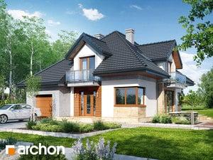 Projekt domu ARCHON+ Dom pri lykovcoch