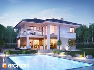 Projekt domu ARCHON+ Vila Olivia