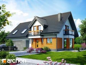Projekt domu ARCHON+ Dom medzi tamariškami 4 (G2N)