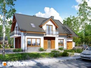 Projekt domu ARCHON+ Dom medzi rododendronmi 16