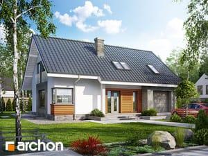 Projekt domu ARCHON+ Dom v krivci (P)