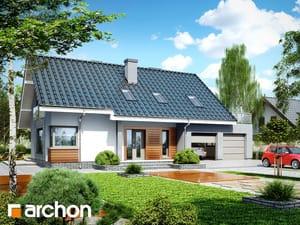 Projekt domu ARCHON+ Dom v krivci (G2)