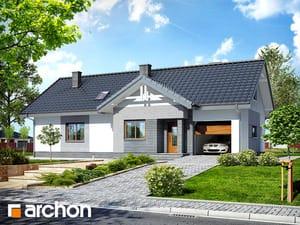 Projekt domu ARCHON+ Dom v nerinkách 2