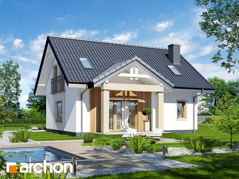 Dom pod vŕbou - Vizualizácia 2