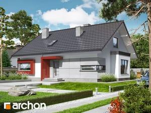Projekt domu ARCHON+ Dom pod jarabinou 9