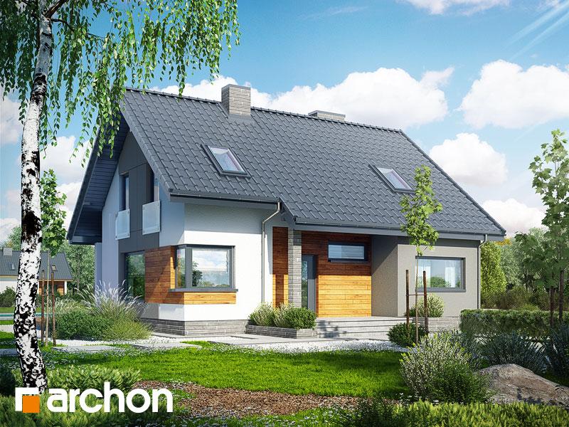 Dom v heucherách 2 - Vizualizácia 1