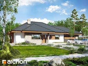 Projekt domu ARCHON+ Dom v mliečivcoch (G2)