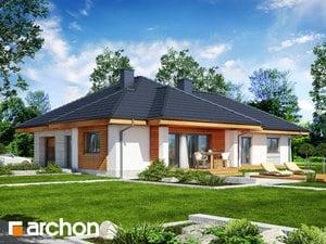 Projekt domu ARCHON+ Dom v gloksíniách 2