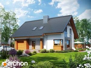 Projekt domu ARCHON+ Dom pri lesnej jabloni 2