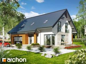 Projekt domu ARCHON+ Dom pri lesnej jabloni 3 (G2)