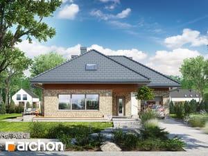 Projekt domu ARCHON+ Dom v orgovánoch 3 (G)