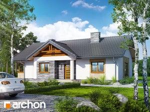 Projekt domu ARCHON+ Dom v chochlačkach 2