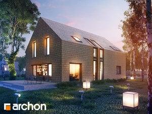 Projekt domu ARCHON+ Dom v cherry