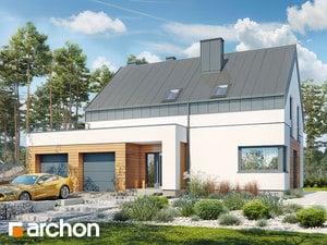 Projekt domu ARCHON+ Dom pri lesnej jabloni 8 (G2N)