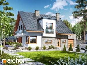 Projekt domu ARCHON+ Dom v amarilkách 5