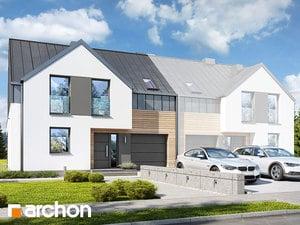 Projekt domu ARCHON+ Dom v barotách 2 (B)
