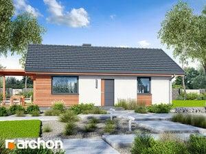 Projekt domu ARCHON+ Dom medzi brečtanom