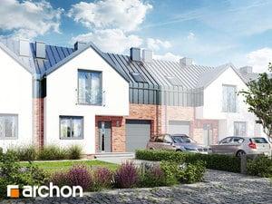 Projekt domu ARCHON+ Dom v barotách (S) ver.2