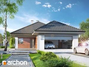 Projekt domu ARCHON+ Dom pri močiarnych kvetoch 2 (G2)