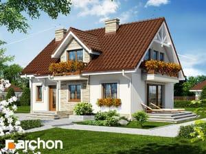 Projekt domu ARCHON+ Dom pri sladkom drievku 2 ver.2