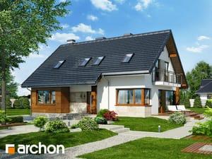 Projekt domu ARCHON+ Dom v idaredách 3 Termo