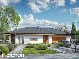 Projekt domu ARCHON+ Dom v amarante 6 (G2)