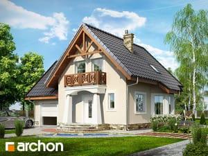 Projekt domu ARCHON+ Dom uprostred hrozna 2 ver.2
