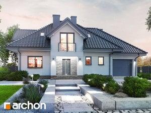 Projekt domu ARCHON+ Dom v slivkach (G)