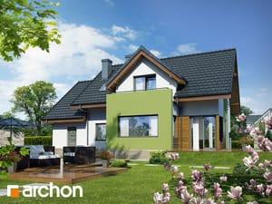 Projekt domu ARCHON+ Dom pod liči 2 ver.2