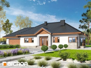 Projekt domu ARCHON+ Dom medzi gaurami 4 (G2N)