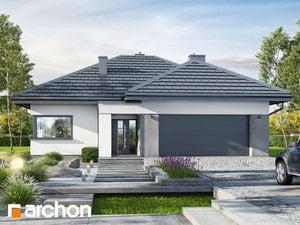 Projekt domu ARCHON+ Dom medzi ringlotami 6 (G2)