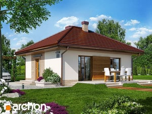 Projekt domu ARCHON+ Dom v kuklíkoch ver.2