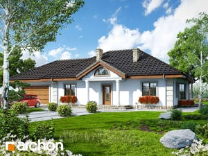 Projekt domu ARCHON+ Dom pod jarabinou (G2)
