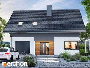 Projekt domu ARCHON+ Dom pri lesnej jabloni 18