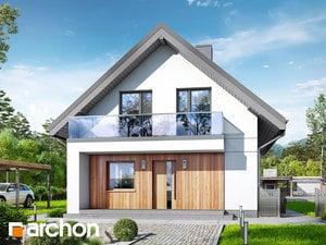 Projekt domu ARCHON+ Dom medzi poniklecmi 4