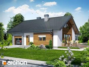 Projekt domu ARCHON+ Dom v gloksíniách ver.2