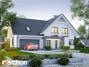 Projekt domu ARCHON+ Dom vorličkách (G2)