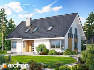 Projekt domu ARCHON+ Dom v povojníkoch ver.2