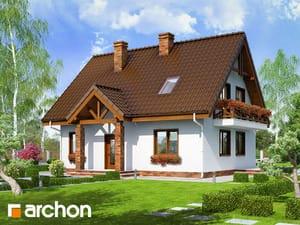Projekt domu ARCHON+ Dom medzi prvosienkami ver.2