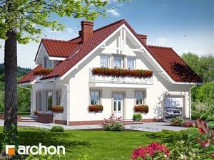 Projekt domu ARCHON+ Dom medzi rododendronmi 2 ver.2