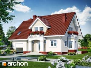 Projekt domu ARCHON+ Dom medzi tamariškami 4