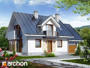 Projekt domu ARCHON+ Dom medzi rododendronmi 6 (N) ver.2