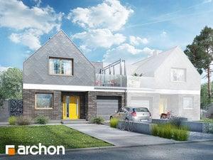 Projekt domu ARCHON+ Dom medzi platanmi (B)