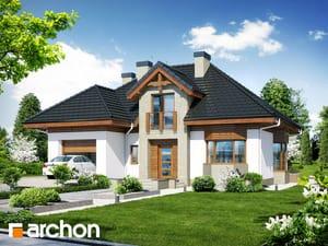 Projekt domu ARCHON+ Dom v kalateách 5 ver.2