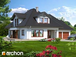 Projekt domu ARCHON+ Dom medzi černuškou (G2) ver.2