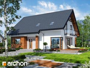 Projekt domu ARCHON+ Dom pri lesnej jabloni 7