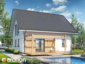 Projekt domu ARCHON+ Dom v zelenci ver.2
